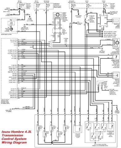 Isuzu on ignition wiring diagram