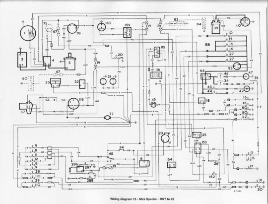 Austin Mini Fuse Box Wiring : Mini matic wiring diagram gmc fuse box diagrams