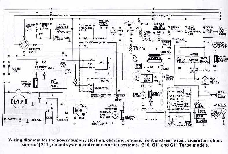 daihatsu charade g102 wiring diagram daihatsu charade stereo wiring diagram daihatsu - car manuals, wiring diagrams pdf & fault codes #2