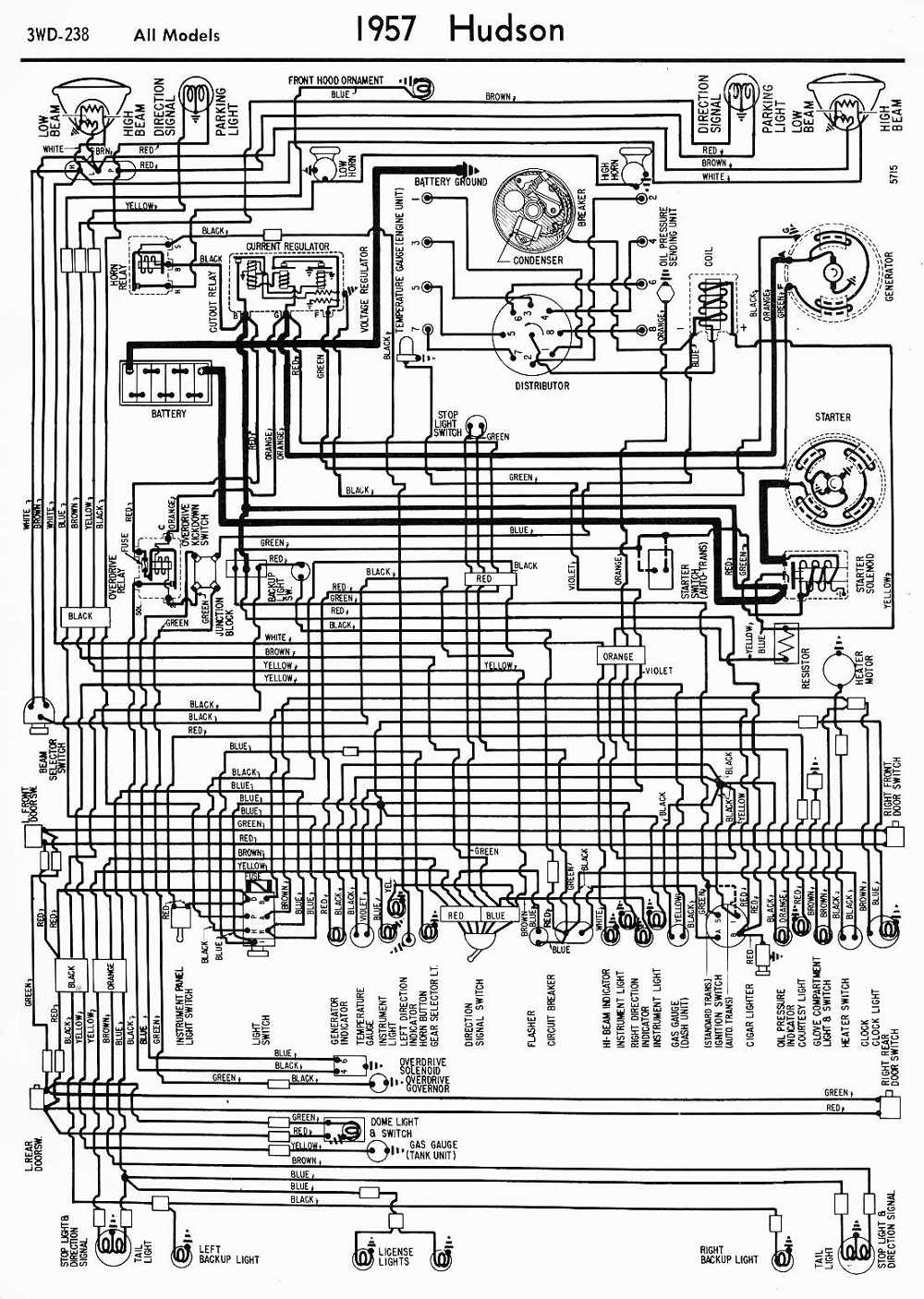 Hudson Car Manuals Wiring Diagrams Pdf Fault Codes Chevy Besides Ignition Switch Diagram Download
