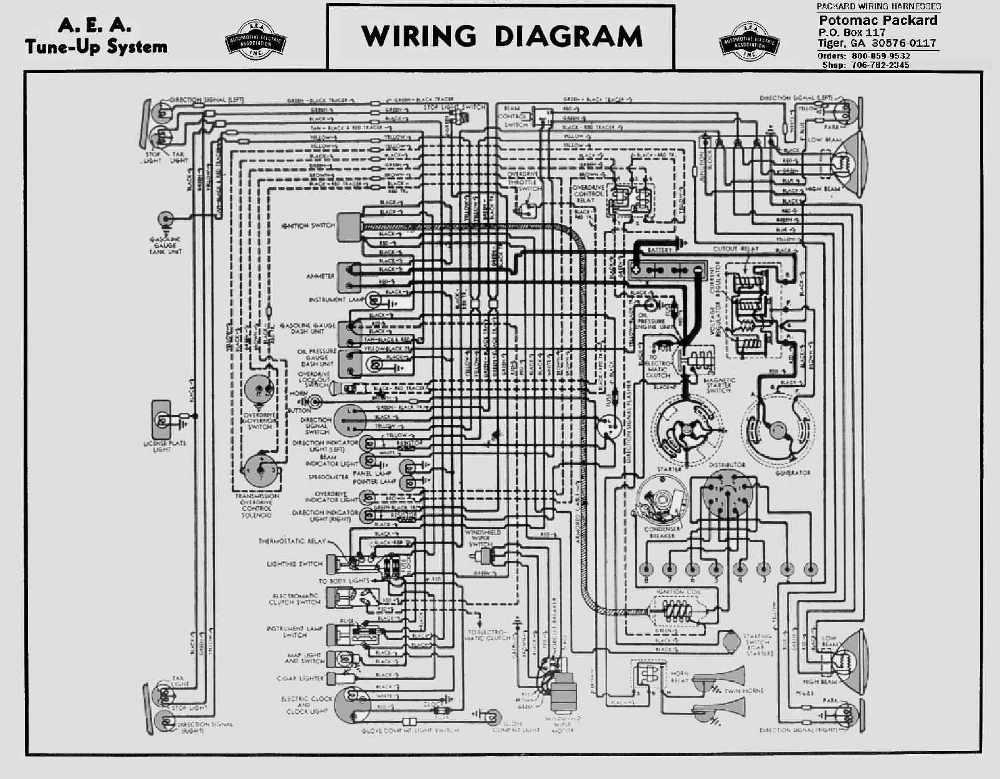 Packard Car Manuals Wiring Diagrams Pdf Fault Codes