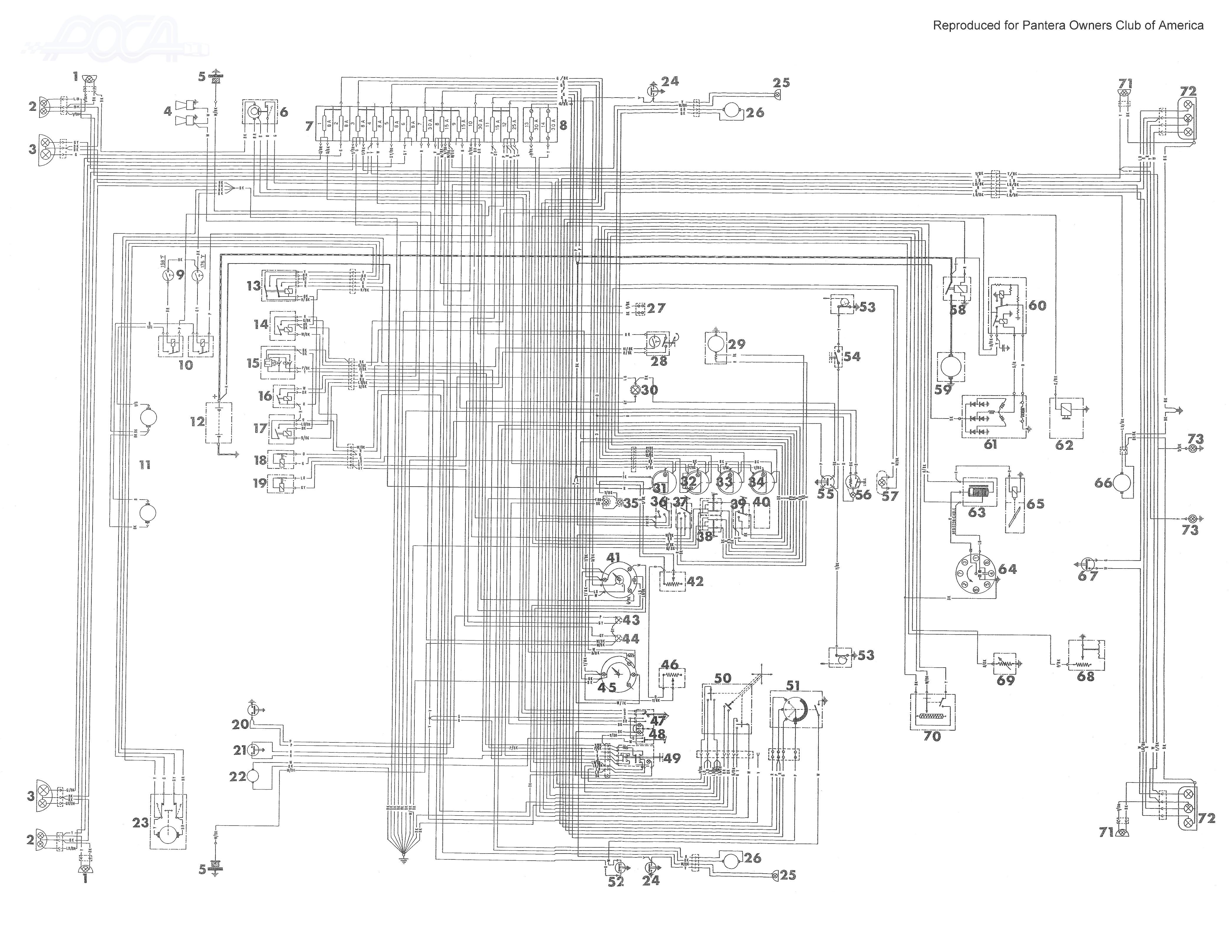 de tomaso - car pdf manual, wiring diagram & fault codes dtc  automotive-manuals.net